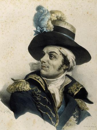 Portrait of Francois De Charette