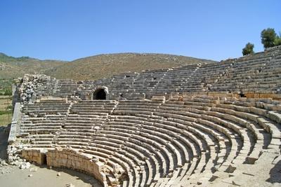 Patara's Amphitheatre, Patara, Turkey