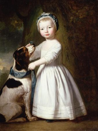 Little Boy with a Dog, C.1757