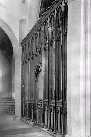 Rood Screen, St. Agnes Church, Cawston