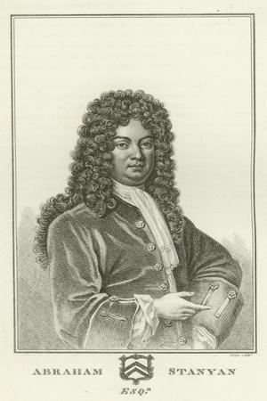 Abraham Stanyan, Esquire
