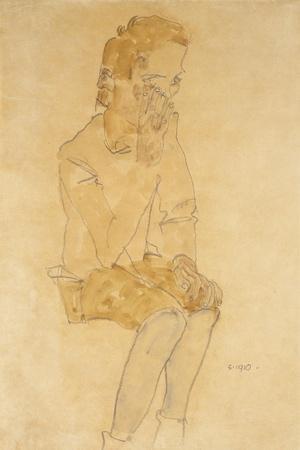 Sitting Boy, 1910