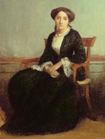 Portrait of Genevieve Celine, 1850