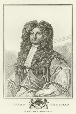 John Vaughan, Earl of Carbery