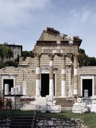 Ruins of Capitoline Temple or Capitolium