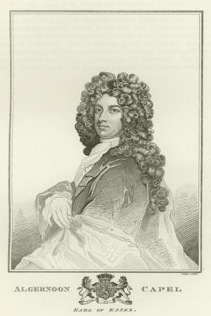 Algernoon Capel, Earl of Essex