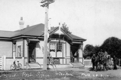 Waipu Post Office, 1910