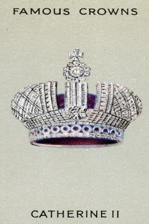 Crown of the Tsarina Catherine Ii, 1938