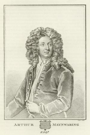 Arthur Maynwaring, Esquire