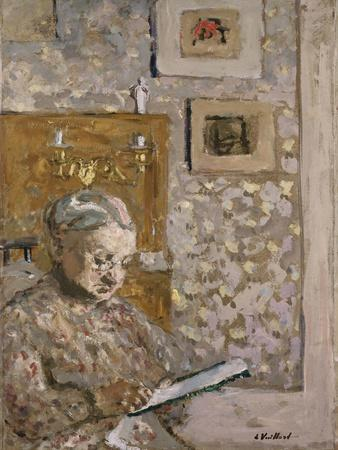 Mme Vuillard with a Tapestry, C.1910