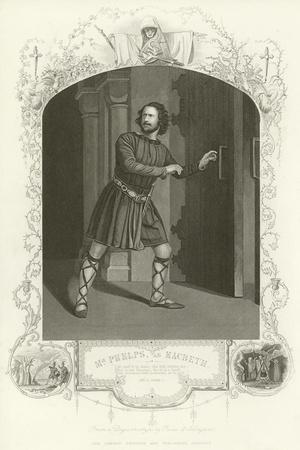 Mr Phelps as Macbeth