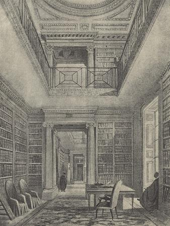 The Library, 1844