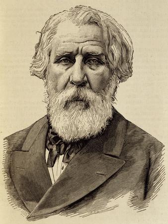 Portrait of Ivan Sergeyevich Turgenev