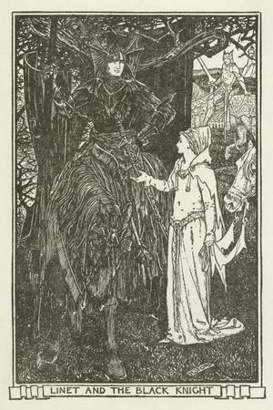 Linet and the Black Knight