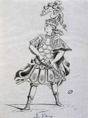 The Actor Henri-Louis Cain, known as Lekain