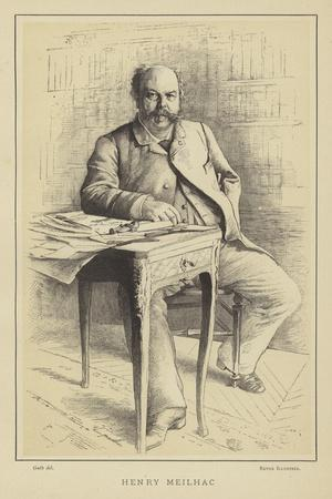Henry Meilhac, French Playwright and Librettist