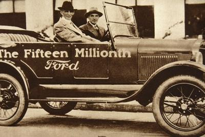 The Fifteen Millionth Ford, 1927