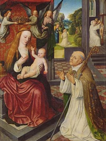 The Lactation of St. Bernard