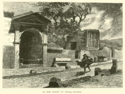 In the Street of Tombs, Pompeii