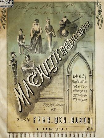 Cover of Macchiette Medioevali