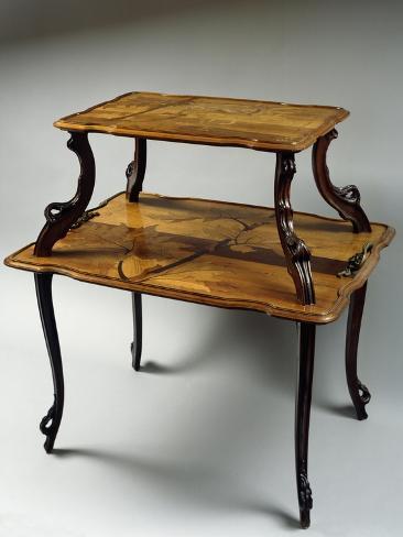 Art Nouveau Style Table