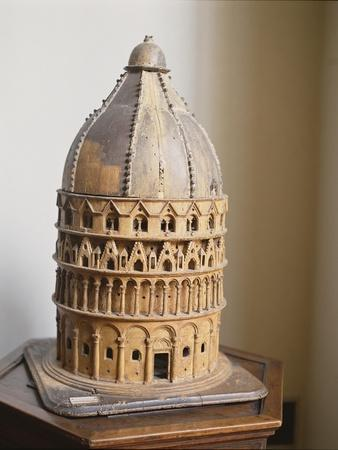 A Model of the Baptistery at Pisa