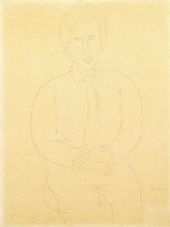 Portrait of Soutine Sitting, 1917