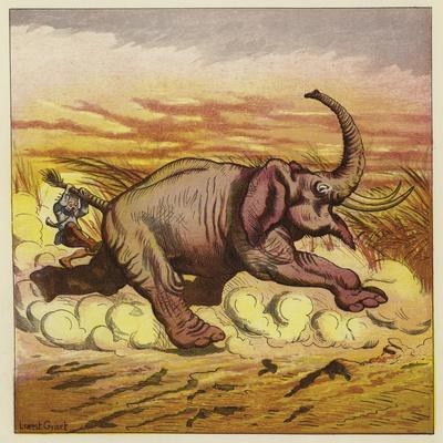 Jim Bold and an Enraged Elephant