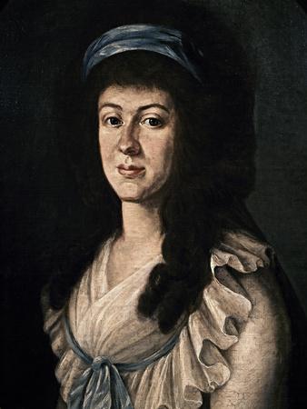 Portrait of Baroness Maria Anna Von Westerholt
