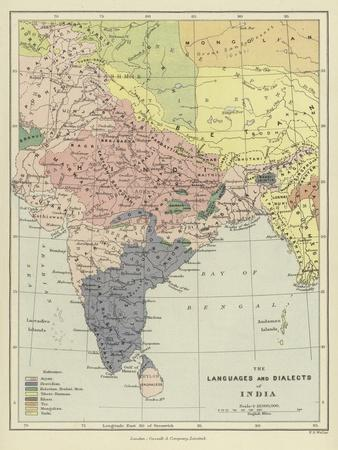The Languages and Dialects of India
