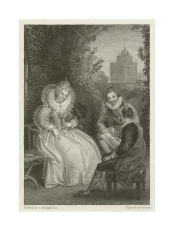 Shakespeare's Interview with Queen Elizabeth