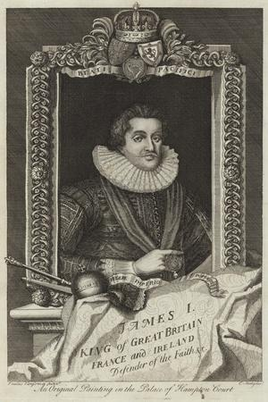 Portrait of James I of Great Britain and Ireland