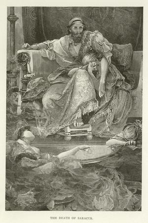 The Death of Saracus