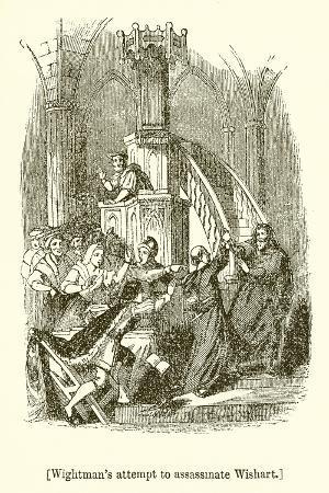 Wightman's Attempt to Assassinate Wishart