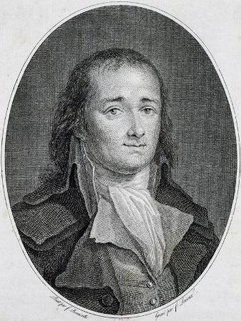 Portrait of Pierre-Gaspard Anaxagore Chaumette