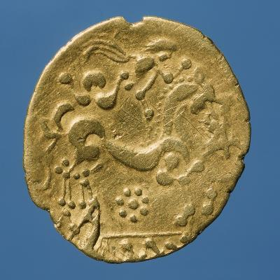 Gold Celtic Stater of Bellovaci