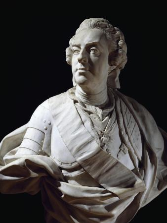 Marble Bust of Louis XV