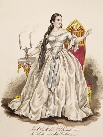 Portrait of Clara Stockl Heinefetter