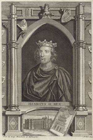 Portrait of Henry III of England