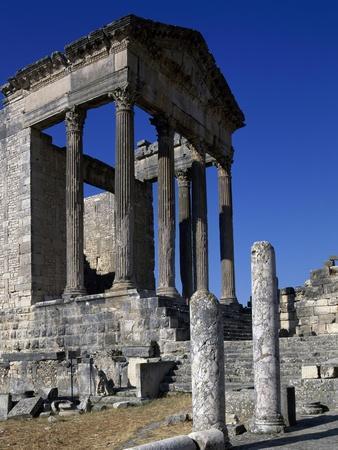 Ruins of Ancient Roman City