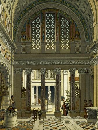 Inside of Roman Palace