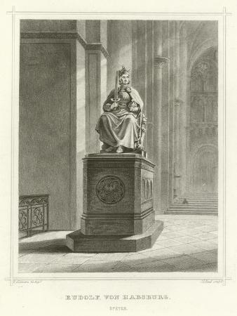 Rudolf Von Habsburg, Speyer