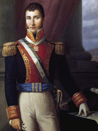 Portrait of Augustin De Iturbide