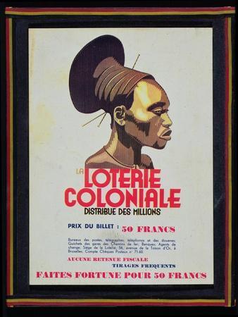 La Loterie Coloniale, C.1950