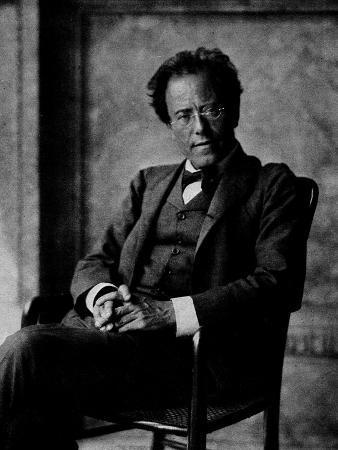 Portrait of Gustav Mahler, 1907
