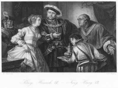 Scene from Henry VIII