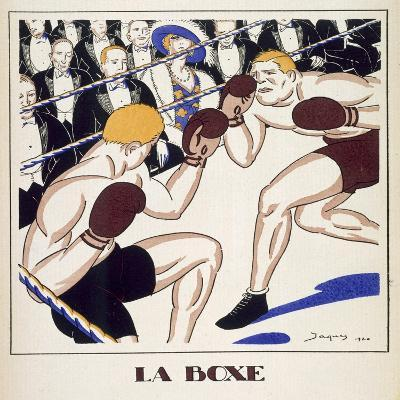 Boxing, from 'Monsieur' 1920