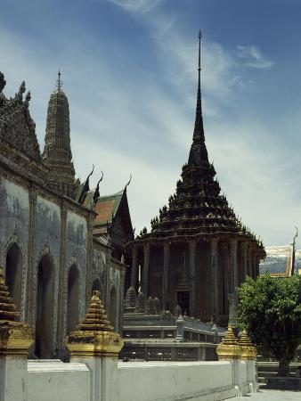 Library at Temple of Emerald Buddha