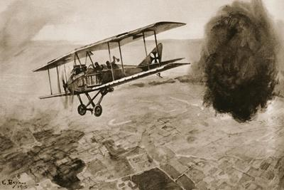 Dogfight, from 'The Illustrated War News', 1915