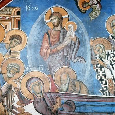 Dormition of the Virgin, 1192
